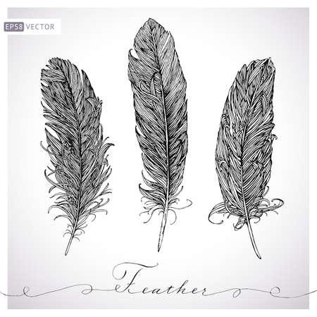 羽は手描きセットです。