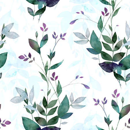 Abstract background base on watercolor painting. Digital mixed texture for textiles, fabrics, souvenirs, packaging, greeting cards and scrapbooking. Hand drawn seamless pattern.