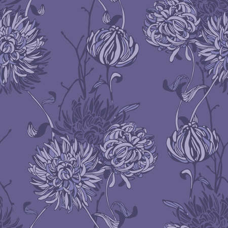 Floral background. Seamless floral pattern. Hand drawn texture with abstract flowers for textiles, fabrics, souvenirs, packaging, greeting cards and scrapbooking.