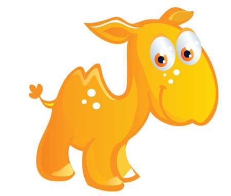 borden: baby camel cartoon