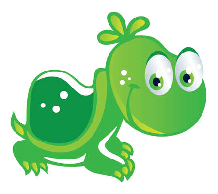 baby turtle: baby turtle cartoon Illustration