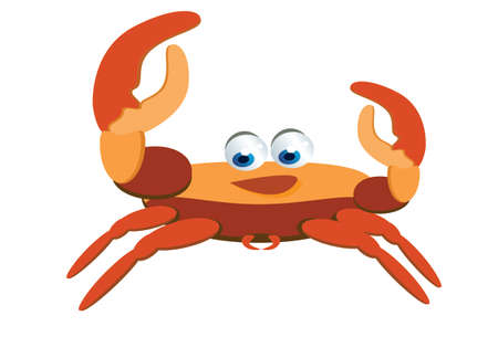 crab cartoon: crab cartoon