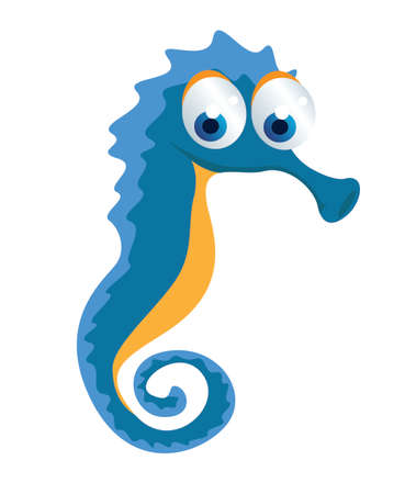 horsefish: del seahorse Vectores