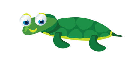 baby turtle:  cute baby turtle Illustration
