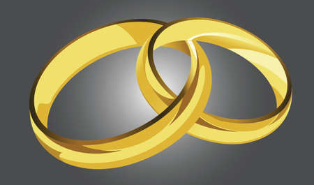 ring finger: golden rings