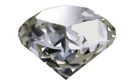 realistic diamond Stock Vector - 25403623
