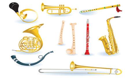 fagot: zestaw instrumentów muzycznych