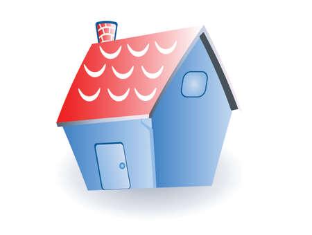 house illustration Vector