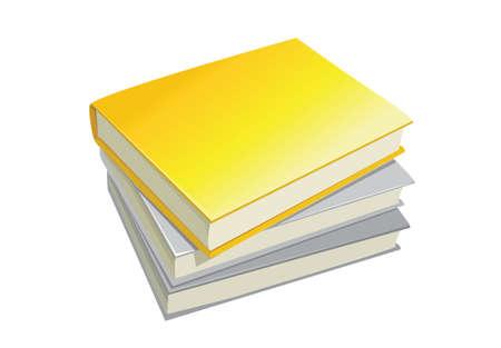 stack of books: stack books