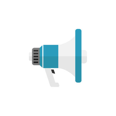 solid: Viral marketing flat icon Illustration