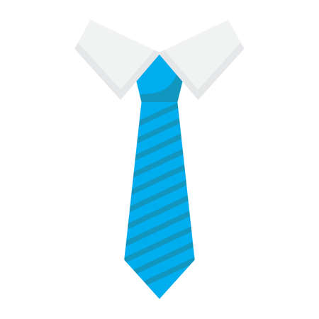 taylor: Tie flat icon, business and necktie, vector graphics, a colorful solid pattern on a white background, eps 10. Illustration