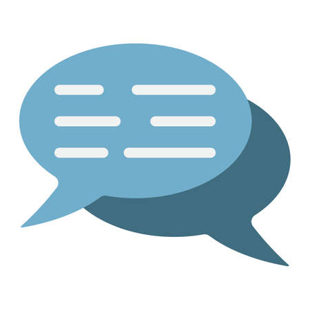spech bubble: Speech bubbles flat icon, seo and development, chat sign vector graphics, a colorful solid pattern on a white background, eps 10.