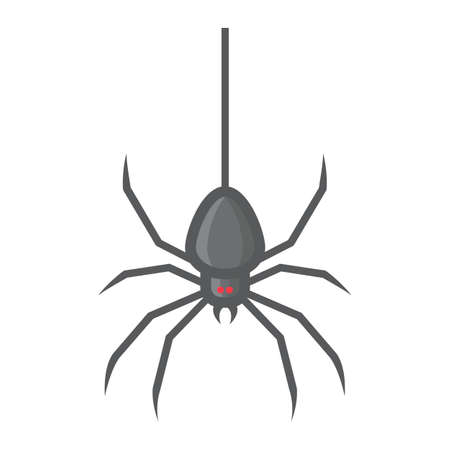Spider filled outline icon