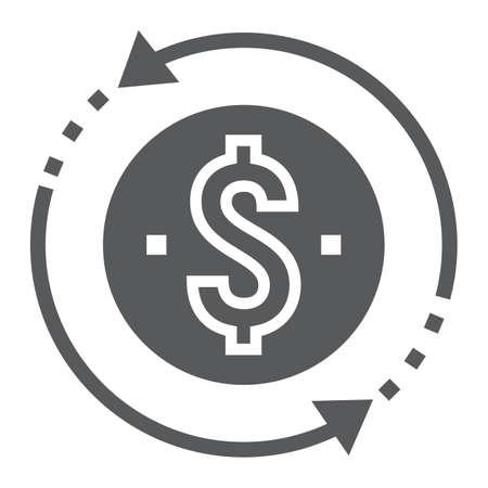Money symbol image illustration Ilustrace