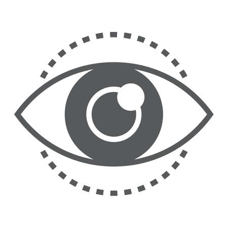 Eye sign image illustration