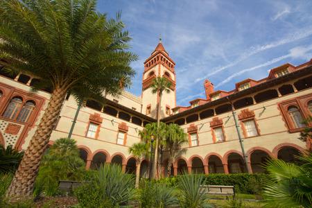 ST. AUGUSTINE, FLORIDA, USA - JANUARY 2015. Flagler College former Hotel Editorial