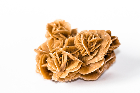 Desert rose, natural stone made from sand