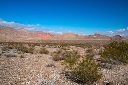 Landscape in Lake Mead National Recreation Area, Nevada, USA Banco de Imagens