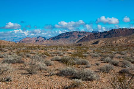 Landscape in Lake Mead National Recreation Area, Nevada, USA Banco de Imagens