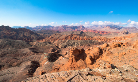 Landscape in Lake Mead National Recreation Area, Nevada, USA Stock Photo