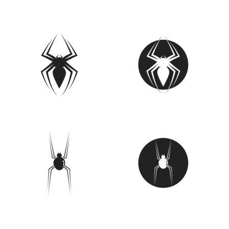 spider logo vector for business
