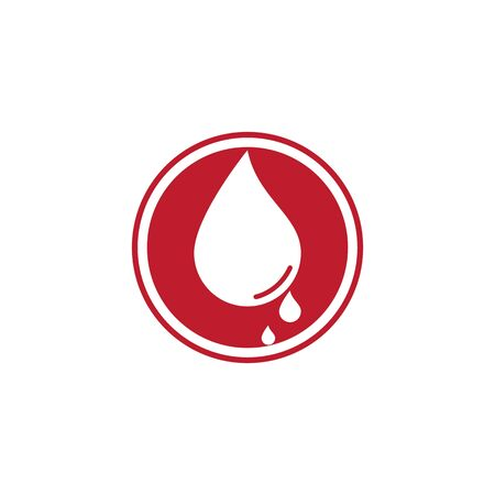 Blood logo icon vector template