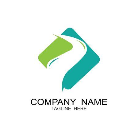 River Logo Template