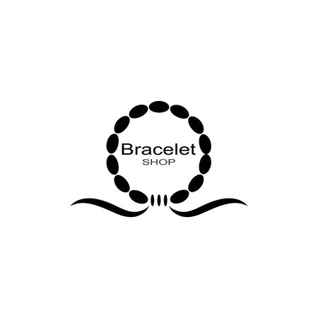 Bracelet icon.Trendy Bracelet logo concept on white background from Luxury collection.Suitable for use on web apps,mobile apps and print media. Logos
