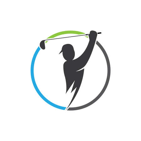 Golf Template vector illustration icon design