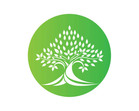 Tree icon template vector illustration