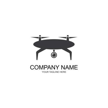 Drone Template Design Vector, Emblem, Design Concept, Creative symbol, Icon