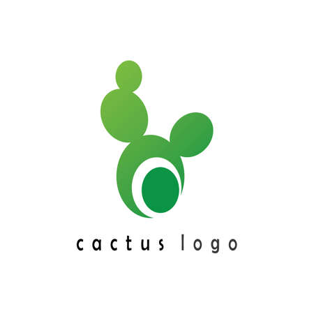 Cactus Icon template vector illustration