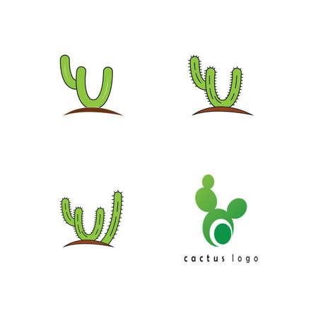 Cactus Icon  template vector illustration