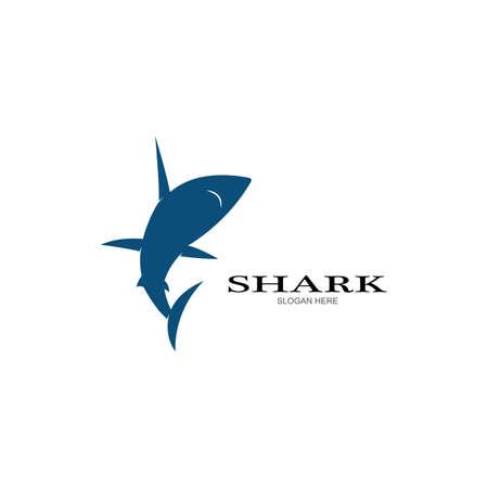 Shark Logo vector Template illustration design