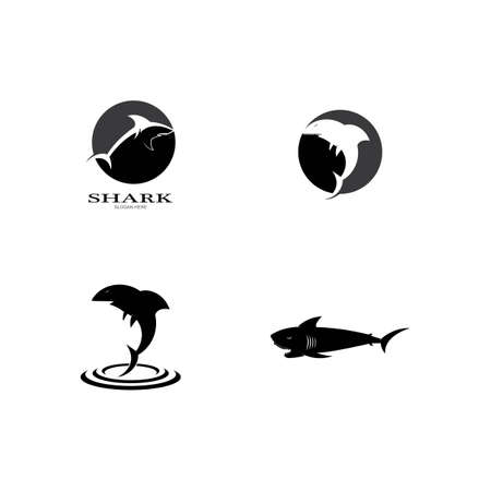 Shark Logo vector Template illustration design