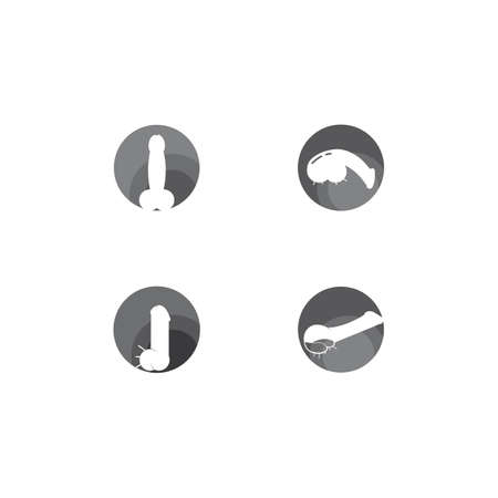 Penis vector icon illustration design