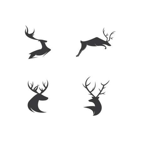 Deer Template vector icon illustration design