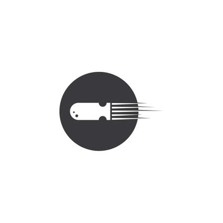 Bullet icon vector illustration template