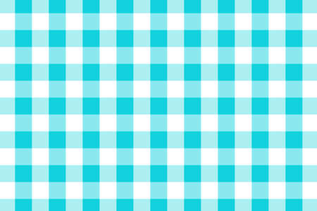 Blue Gingham pattern. Texture from rhombus/squares for - plaid, tablecloths, clothes, shirts, dresses, paper, bedding, blankets, quilts and other textile products. Vector illustration. Banco de Imagens - 110244105
