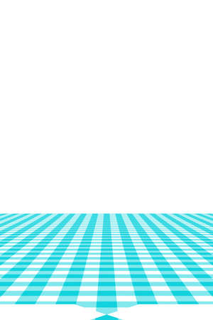 Blue Gingham pattern. Texture from rhombus/squares for - plaid, tablecloths, clothes, shirts, dresses, paper, bedding, blankets, quilts and other textile products. Vector illustration. Banco de Imagens - 110244108