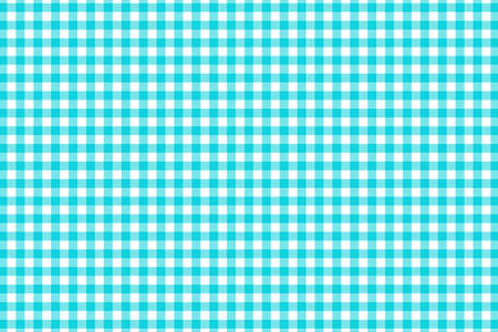 Blue Gingham pattern. Texture from rhombus/squares for - plaid, tablecloths, clothes, shirts, dresses, paper, bedding, blankets, quilts and other textile products. Vector illustration. Banco de Imagens - 110216864