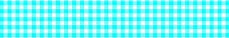 Aqua Gingham pattern. Texture from rhombussquares for - plaid, tablecloths, clothes, shirts, dresses, paper, bedding, blankets, quilts and other textile products. Vector illustration. Illustration