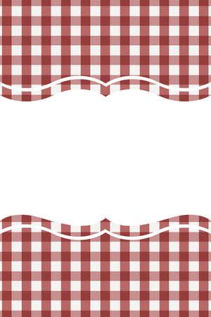 Motif Bordo Vichy. Texture à partir de losanges / carrés pour - plaid, nappes, vêtements, chemises, robes, papier, literie, couvertures, couettes et autres produits textiles. Illustration vectorielle.