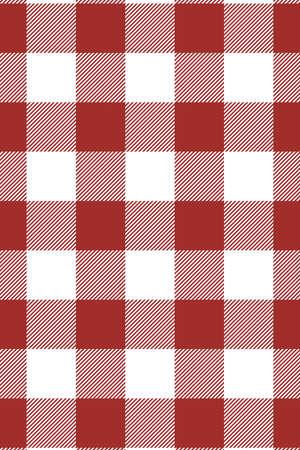 Motif Bordo Vichy. Texture de losange / carrés pour - plaid, nappes, vêtements, chemises, robes, papier, literie, couvertures, couettes et autres produits textiles. Illustration vectorielle.