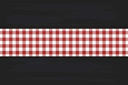 Motif Bordo Vichy. Texture à partir de losanges / carrés pour - plaid, nappes, vêtements, chemises, robes, papier, literie, couvertures, couettes et autres produits textiles. Illustration vectorielle. Vecteurs
