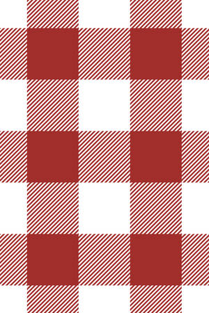 Bordo Gingham pattern. Texture from rhombus/squares for - plaid, tablecloths, clothes, shirts, dresses, paper, bedding, blankets, quilts and other textile products. Vector illustration.
