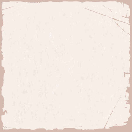 rifts: Vector grunge texture of pink old paper Illustration