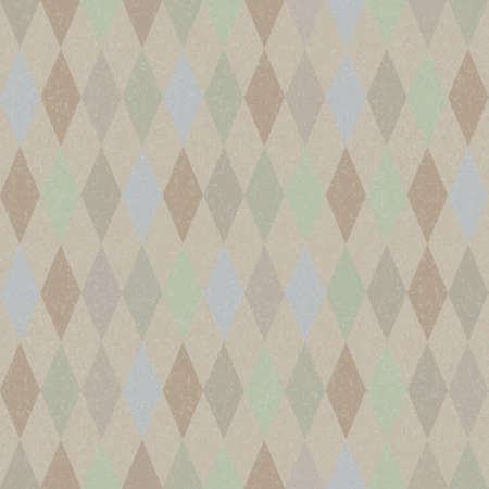 Seamless vector retro harlequin background in pastel colors Vector