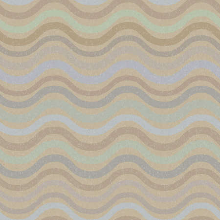Vector retro seamless wave pattern in pastel colors Stock Vector - 12805273