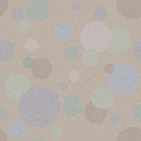 Vector abstract seamless background with various circles Vector